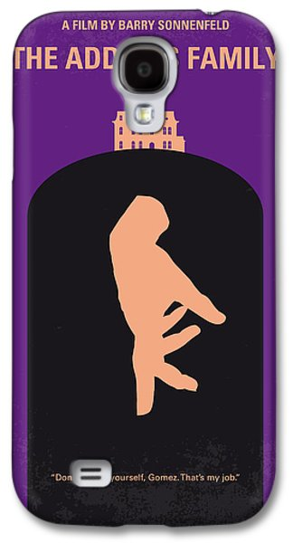 No423 My The Addams Family Minimal Movie Poster Galaxy S4 Case by Chungkong Art