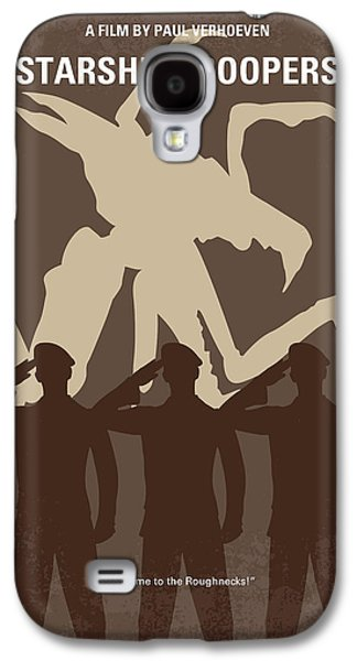 No424 My Starship Troopers Minimal Movie Poster Galaxy S4 Case