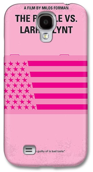 No395 My The People Vs Larry Flint Minimal Movie Poster Galaxy S4 Case by Chungkong Art