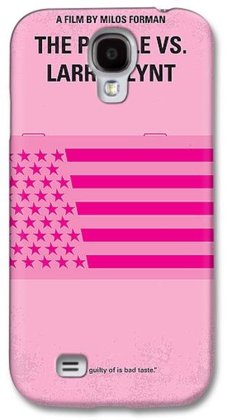 No395 My The People Vs Larry Flint Minimal Movie Poster Galaxy S4 Case