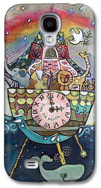 Noah's Ark Cuckoo Clock Wall Art Galaxy S4 Case