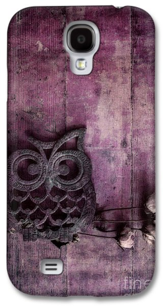 Nocturnal In Pink Galaxy S4 Case by Priska Wettstein