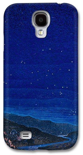 Constellations Galaxy S4 Case - Nocturnal Landscape by Francois-Louis Schmied
