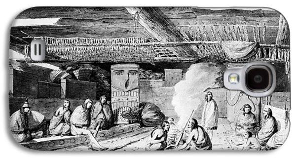 Nootka Dwelling, 1778 Galaxy S4 Case by Granger