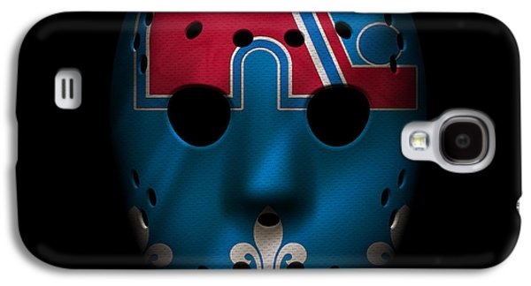 Nordiques Jersey Mask Galaxy S4 Case by Joe Hamilton