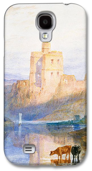 Norham Castle An Illustration To Marmion By Sir Walter Scott Galaxy S4 Case