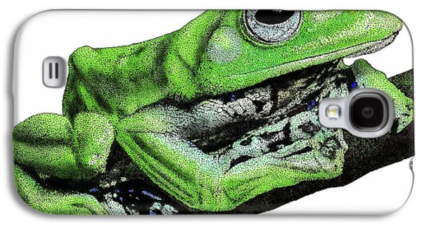 Norhayatis Flying Frog Galaxy S4 Case by Roger Hall