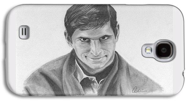 Norman Bates Portrait Galaxy S4 Case
