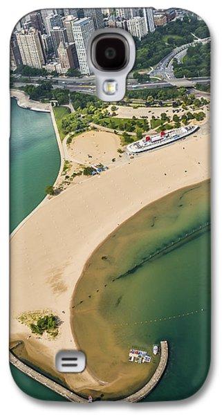 North Avenue Beach And Castaways Restaurant Galaxy S4 Case by Adam Romanowicz