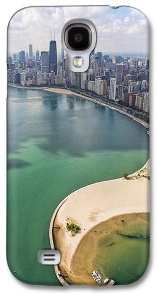 North Avenue Beach Chicago Aerial Galaxy S4 Case