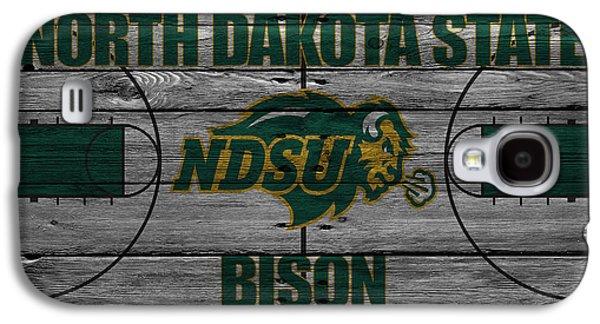 North Dakota State Bison Galaxy S4 Case by Joe Hamilton