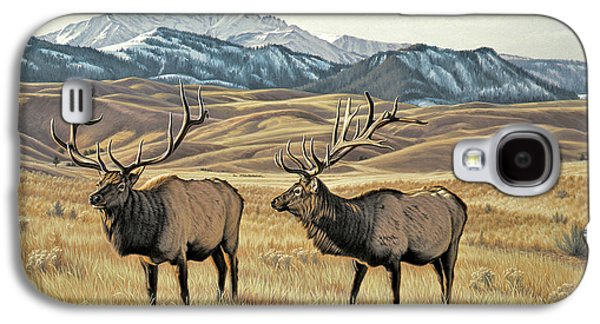 Bull Galaxy S4 Case - North Of Yellowstone by Paul Krapf