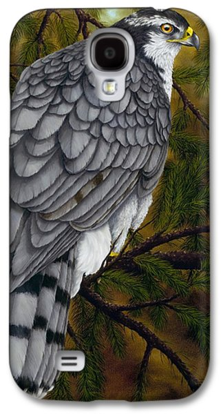 Northern Goshawk Galaxy S4 Case by Rick Bainbridge