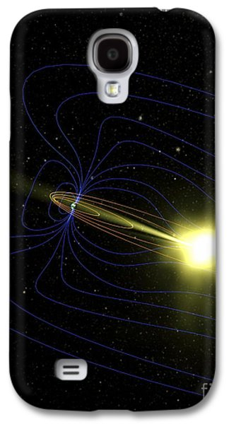 Northern Lights Explained, Artwork Galaxy S4 Case by Nasa