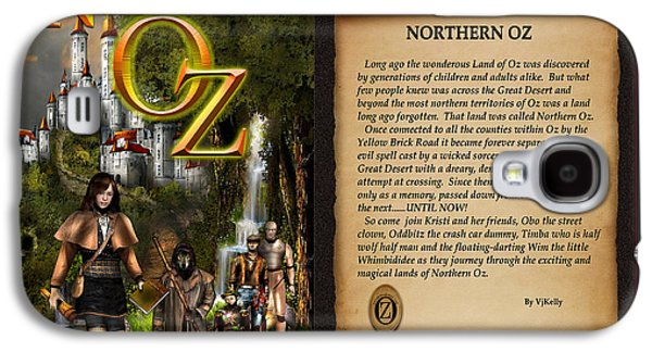 Northern Oz Cover And Intro 48 Galaxy S4 Case by Vjkelly Artwork