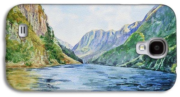 Norway Fjord Galaxy S4 Case by Irina Sztukowski