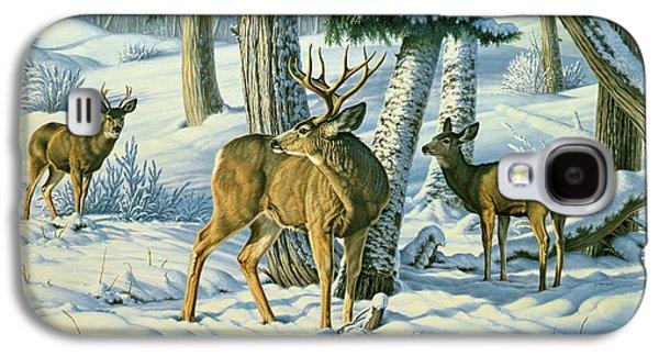 Not This Year - Mule Deer Galaxy S4 Case by Paul Krapf