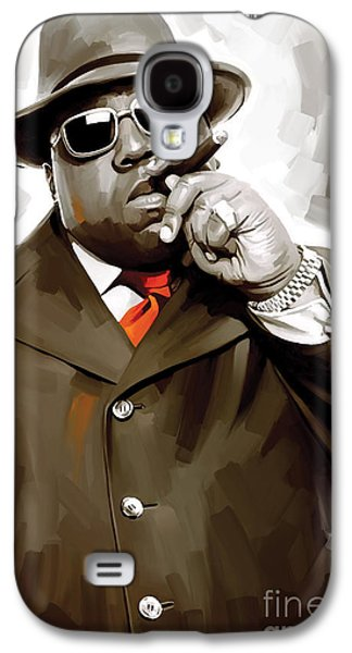 Notorious Big - Biggie Smalls Artwork 3 Galaxy S4 Case by Sheraz A