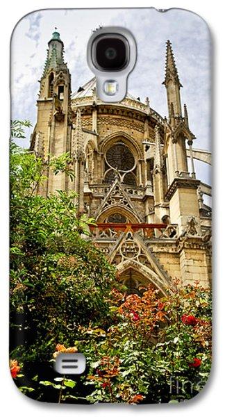 Notre Dame De Paris Galaxy S4 Case by Elena Elisseeva