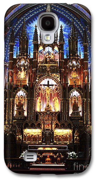 Notre Dame Interior Galaxy S4 Case by John Rizzuto