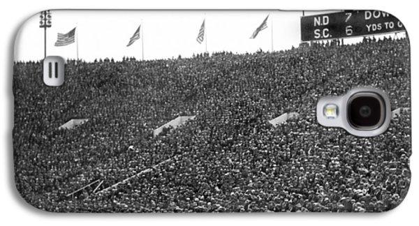 Notre Dame-usc Scoreboard Galaxy S4 Case by Underwood Archives