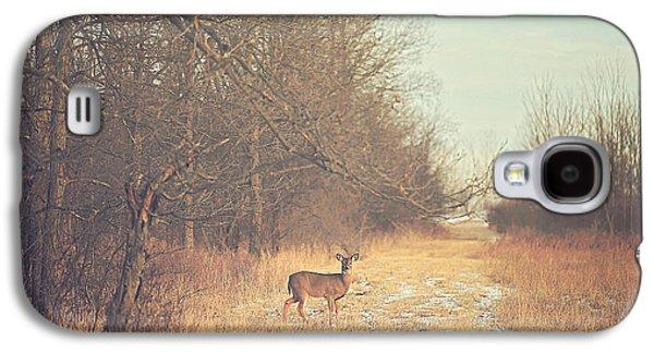 November Deer Galaxy S4 Case by Carrie Ann Grippo-Pike