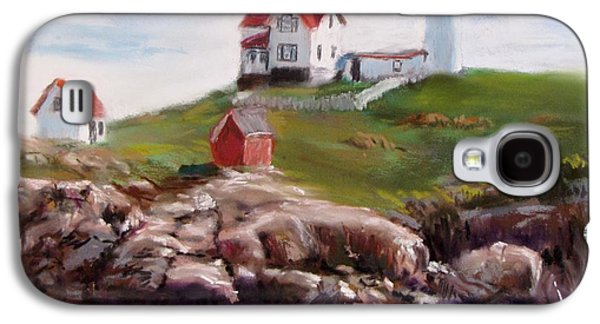 Nubble Lighthouse In Pastel Galaxy S4 Case