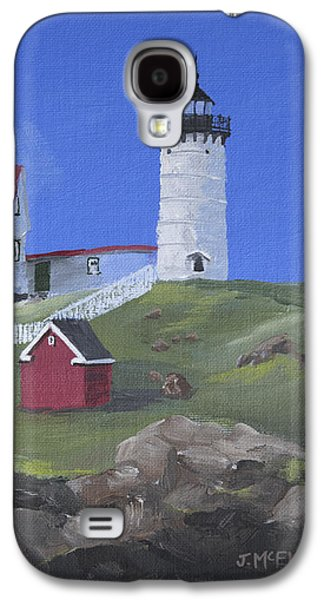 Nubble Lighthouse Galaxy S4 Case by Jerry McElroy