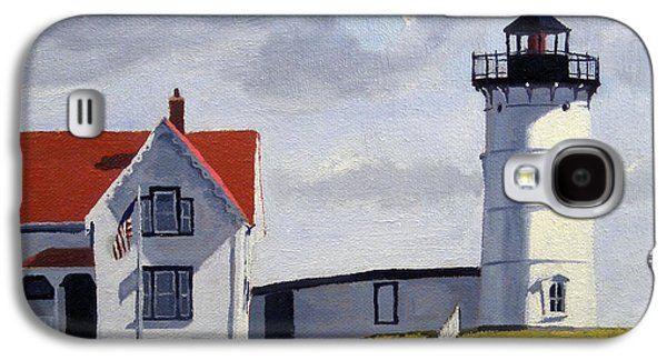 Nubble Lighthouse Maine Galaxy S4 Case by Christine Hopkins