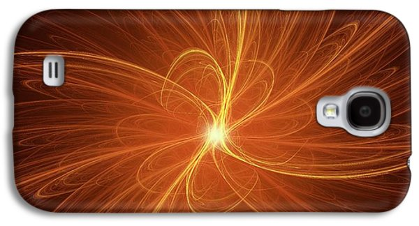 Nuclear Fusion Concept Illustration Galaxy S4 Case