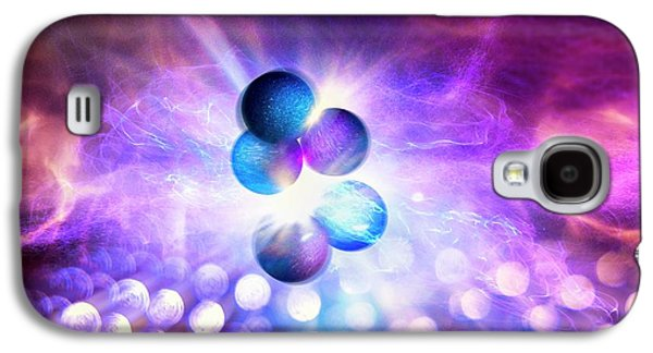 Nuclear Fusion Galaxy S4 Case by Richard Kail