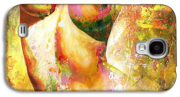 Nude Details - Digital Vibrant Color Version Galaxy S4 Case by Emerico Imre Toth