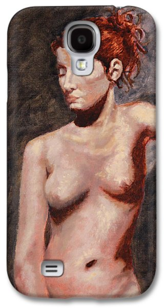 Nude French Woman Galaxy S4 Case by Shelley Irish