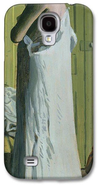 Nude In An Interior Galaxy S4 Case by Felix Edouard Vallotton