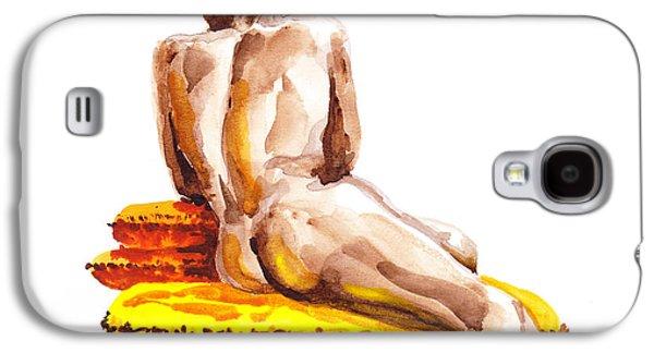 Nude Male Model Study Vi Galaxy S4 Case