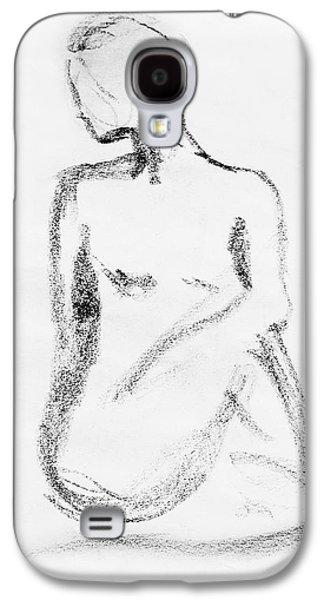 Nude Model Gesture Vi Galaxy S4 Case by Irina Sztukowski