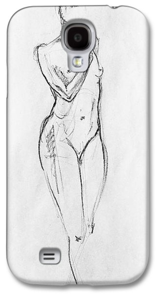 Nude Model Gesture Viii Galaxy S4 Case by Irina Sztukowski