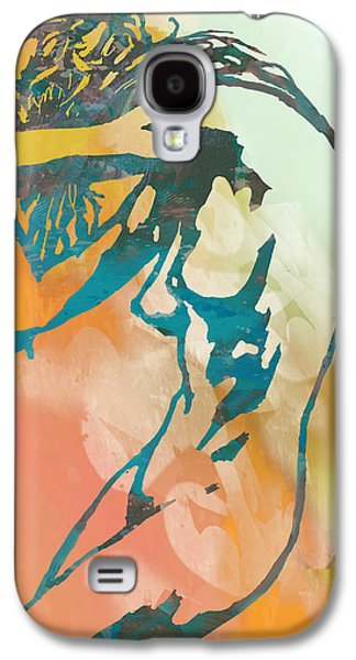 Nude - Pop Art Etching Poster 6 Galaxy S4 Case by Kim Wang