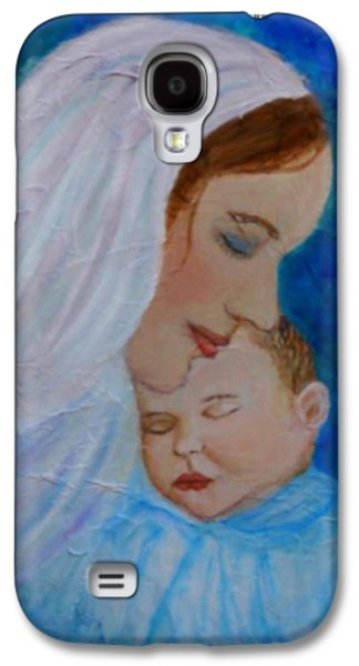 Nurturing Love Of A Mother  Galaxy S4 Case by The Art With A Heart By Charlotte Phillips
