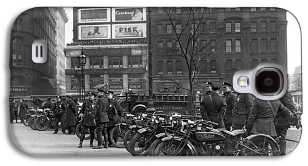 Ny Motorcycle Police Galaxy S4 Case by Underwood Archives