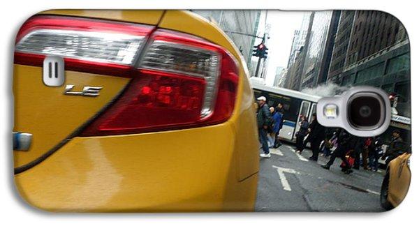 Robert Smith Music Galaxy S4 Case - Nyc Cab by TSB Art Gallery Dennis Thompson Jr Curator Photographer