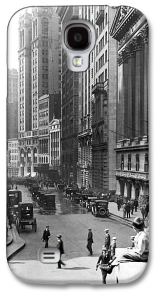 Nyc Financial District Galaxy S4 Case by Underwood Archives