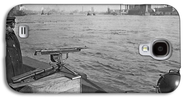 Nyc Prohibition Police Boat Galaxy S4 Case by Underwood Archives