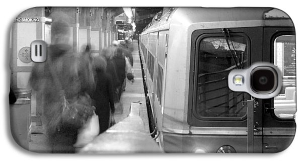 Metro North/ct Dot Commuter Train Galaxy S4 Case by Mike McGlothlen