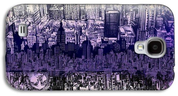 Nyc Tribute Skyline 2 Galaxy S4 Case