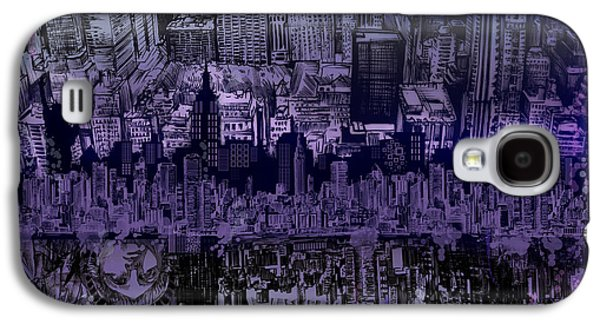 Nyc Tribute Skyline Galaxy S4 Case