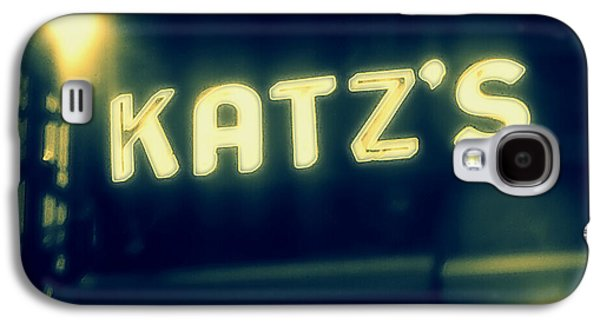Nyc's Famous Katz's Deli Galaxy S4 Case by Paulo Guimaraes