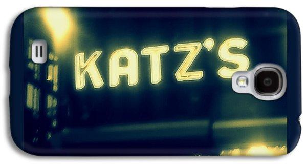 Nyc's Famous Katz's Deli Galaxy S4 Case