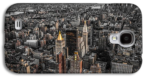 Nycs Golden Tops Galaxy S4 Case by Hannes Cmarits