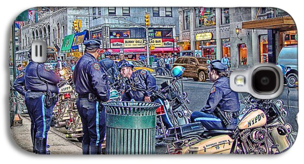 Nypd Highway Patrol Galaxy S4 Case by Ron Shoshani
